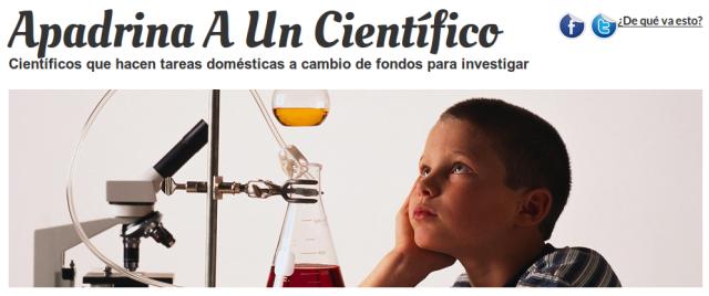 Apadrina a un Científico