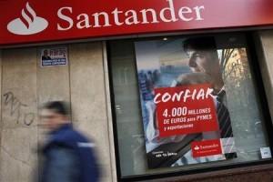 el Santander aumenta sus beneficios