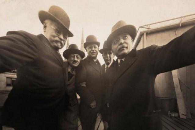 Foto del primer Selfie de la historia